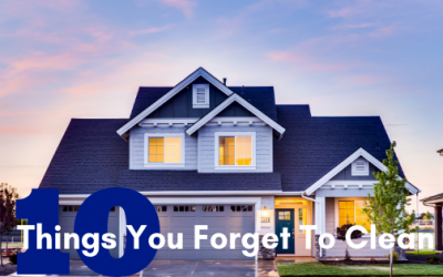 10 Things You Forget To Clean