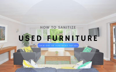 How To Sanitize Used Furniture