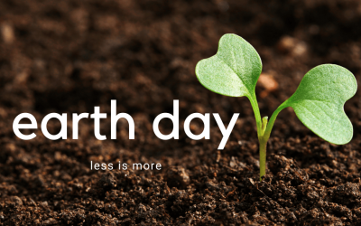 This Earth Day, Less Is More